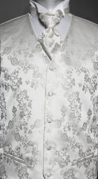 Creme Ivory Skjorte Til Brudgom